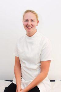 Justine Robinson, Osteopath