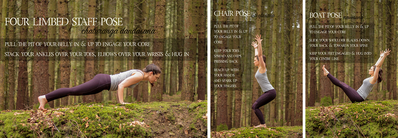 3 yoga poses to fire up your core